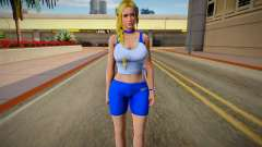 DOA6 Helena Douglas Energy Up Training Wear для GTA San Andreas