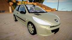 Peugeot 207 Compact 3 для GTA San Andreas