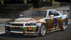 Nissan Skyline R34 BS U-Style PJ8 для GTA 4