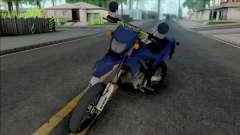 Kawasaki D-Tracker STD для GTA San Andreas