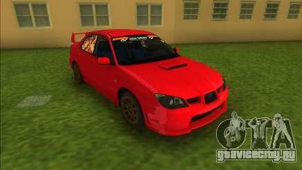 Subaru Impreza WRX STI 2006 для GTA Vice City