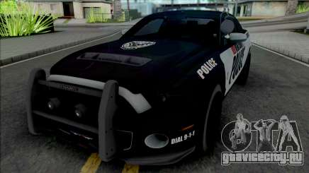 Ford Mustang Shelby GT500 Police для GTA San Andreas