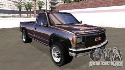 GMC Sierra 1500 1988 Paintjob Chromed для GTA San Andreas