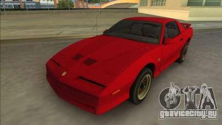Pontiac Firebird Trans Am 1987 (HQ) для GTA Vice City