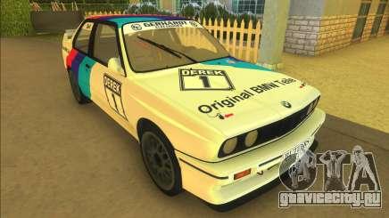 BMW M3 E30 DTM Group A для GTA Vice City