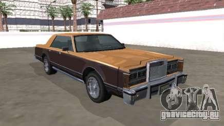Virgo Continental Sedan для GTA San Andreas