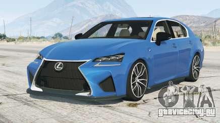 Lexus GS F 2015〡add-on для GTA 5