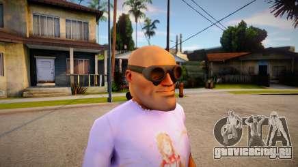 Engineer Mask For Cj для GTA San Andreas