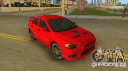 Mitsubishi Lancer Evolution X для GTA Vice City