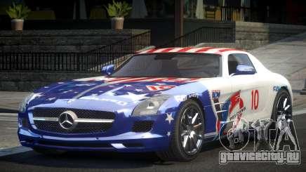 Mercedes-Benz SLS G-Style L9 для GTA 4