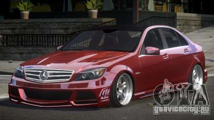 Mercedes-Benz C63 SP A-Style для GTA 4