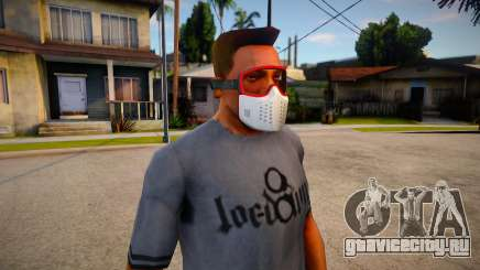 GTA V Trevor Prologue Mask For CJ для GTA San Andreas