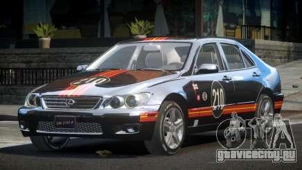 Lexus IS300 SP-R L1 для GTA 4