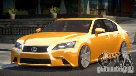 Lexus GS 350 F-Sport для GTA 4