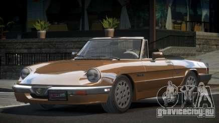 Alfa Romeo Spider 115 80S для GTA 4
