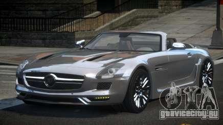 Mercedes-Benz SLS PSI-R для GTA 4