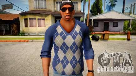 Свитер Франклина из GTA V для GTA San Andreas