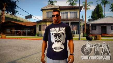 OnSomeShit Monkey T-Shirt для GTA San Andreas