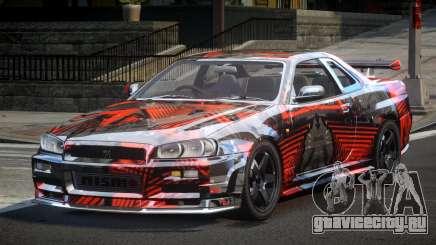 Nissan Skyline PSI Drift L2 для GTA 4