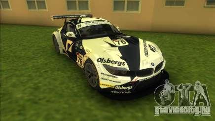 BMW Z4 GT3 для GTA Vice City