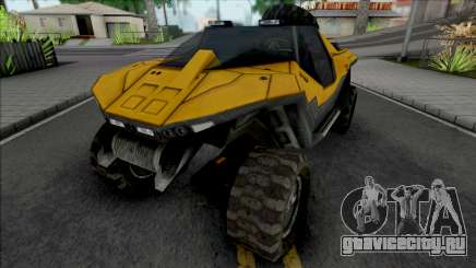 GTA Halo Civilian Warthog GGM Conversion для GTA San Andreas