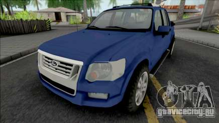 Ford Explorer Sport Trac Limited 2008 для GTA San Andreas