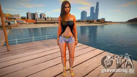 Lisa Hamilton Casual v3 для GTA San Andreas