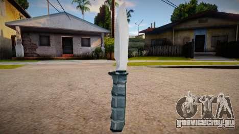 New knife (good textures) для GTA San Andreas
