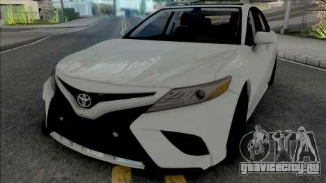 Toyota Camry (SA Plate) для GTA San Andreas