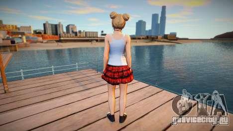 Marie Rose Casual v9 для GTA San Andreas