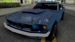 Shelby GT500 1967 [Fixed] для GTA San Andreas