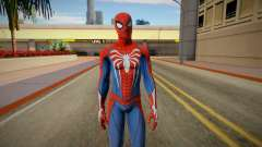 Spider-Man Advanced Suit from Spiderman PS4 для GTA San Andreas