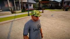 Камуфляжная Кепка для GTA San Andreas