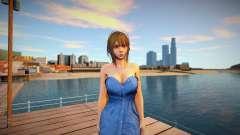 Misaki Denim Dress для GTA San Andreas