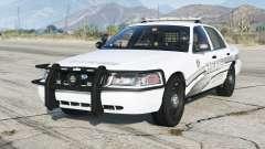Ford Crown Victoria P71 Police Interceptor 2011〡Sheriff K-9 Unit [ELS]〡red & blue emergency lights для GTA 5