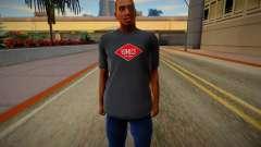 HD CJ 2016 (dark tshirt) для GTA San Andreas