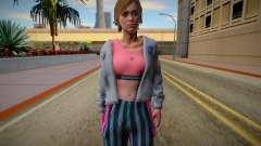 Ellie (good textures) для GTA San Andreas