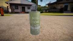 HQ дымовая граната для GTA San Andreas