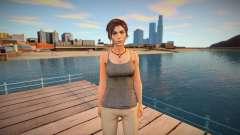 Lara Croft from Rise of the Tomb Raider для GTA San Andreas