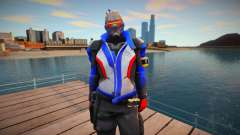 Soldier 76 From Overwatch для GTA San Andreas