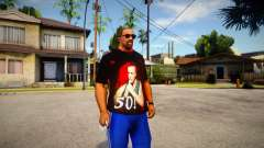 T-shirt Till Lindemann 50 для GTA San Andreas