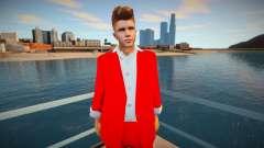 Justin Bieber Skin для GTA San Andreas