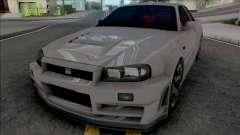 Nissan Skyline GT-R R34 Nismo Z-Tune 2005 для GTA San Andreas