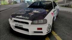 Nissan Skyline GT-R R34 1997 для GTA San Andreas