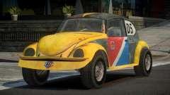 Volkswagen Beetle Prototype from FlatOut PJ1 для GTA 4