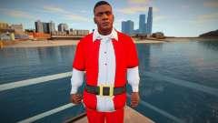 Франклин в Рождественском костюме для GTA San Andreas