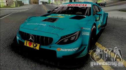 Mercedes-AMG C63 DTM Gary Paffett для GTA San Andreas