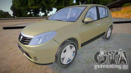 Dacia Sandero 2008 James May для GTA San Andreas