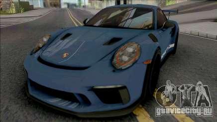 Porsche 911 GT3 RS 2018 (IVF Lights) для GTA San Andreas