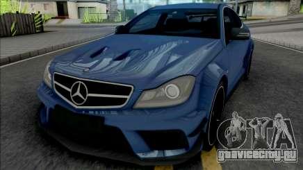 Mercedes-AMG C63 Black Series для GTA San Andreas